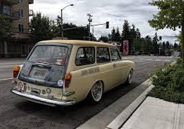 Seattle U0027s Classics 1965 Volkswagen 1500 Squareback