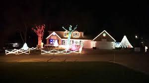 novelty christmas lights ne wall