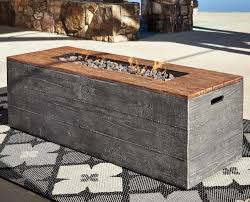 fire table cover rectangle signature design by ashley hatchlands low rectangular fire pit
