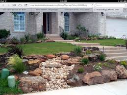 Gardens With Rocks by Create Front Yard Landscaping With Rocks U2014 Porch And Landscape Ideas