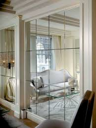 Modern Mirrors For Dining Room by Decorate Using Oversized Mirrors Moldings Spaces And Walls