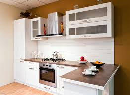 placard cuisine moderne cuisine équipée avec poster pour porte de placard fraîche élégant