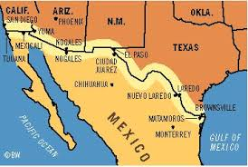 map us mexico border states the constitution in the 100mile border zone american civil