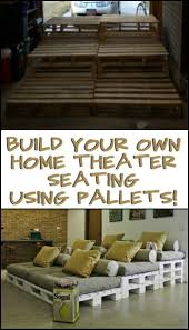 Build A Platform Bed Using Pallets by Best 25 Pallet Movie Theaters Ideas On Pinterest Pallet