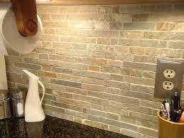 Tile Bathroom Backsplash Kitchen Backsplash Adorable Tumbled Stone Backsplash Lowes