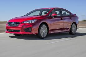 2017 subaru impreza sedan subaru impreza 2018 motor trend car of the year contender motor