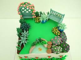 10 garden themed first birthday party cake ideas