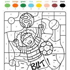 coloriage à imprimer un ballon de foot