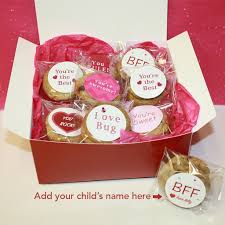 valentines day cookies kids s day cookie cards customized superlove cookies