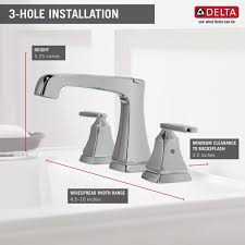 Delta Widespread Faucet Faucet Com 3564 Ssmpu Dst In Brilliance Stainless By Delta
