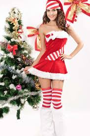 christmas costume strapless faux fur christmas costume christmas costumes