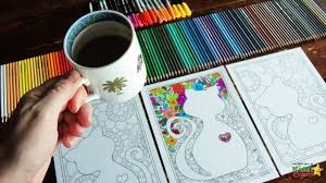 free cat mindful coloring pages kids u0026 adults kiddycharts