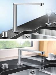 blanco kitchen faucets retractable kitchen faucet by blanco