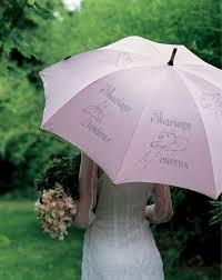 décoration de mariage parapluie brodé - Parapluie Mariage