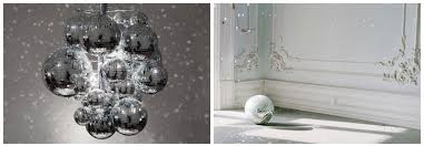 Black And White Ball Decoration Ideas Glitter Ball Wedding Decoration Idea