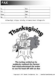 thanksgiving fax cover sheet at freefaxcoversheets net
