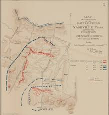 Map Of Nashville But The Enemy Were Not Checked U0027 U2013 The Battle Of Nashville U2013 Civil