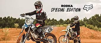 fox racing mx 2018 rodka special edition motocross racewear