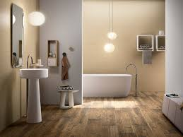bathroom floor ideas tile that looks like wood larix