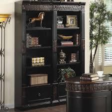 Dark Cherry Bookcase Bookcases Dark Wood Style Yvotube Com
