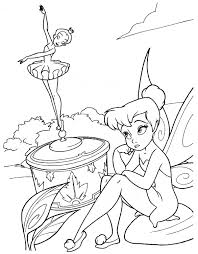 pixie hollow fairy coloring pages coloring pages pinterest