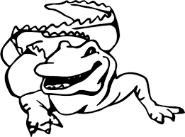 animal coloring page forward facing alligator 120832 coloring