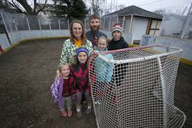 Hockey Rink In Backyard by Sandlot Haven Found In Backyard Hockey Rink Life Aberdeennews Com