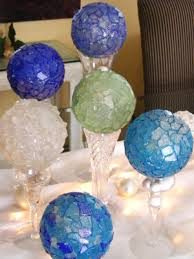 sea glass ornaments hgtv
