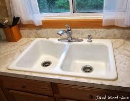 how to recaulk kitchen sink fix caulk around a sink