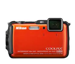 Canon Rugged Camera Nikon Coolpix Aw120 Compact Rugged Digital Camera W Wifi