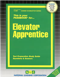 elevator apprentice passbooks jack rudman 9780837340616 amazon