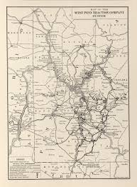 Pennsylvania Railroad Map by