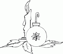 tree ornaments coloring pages coloring home