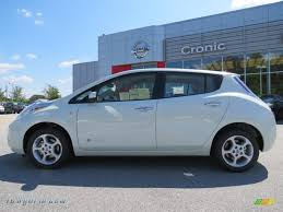white nissan 2012 2012 nissan leaf sl in glacier pearl white photo 2 018519