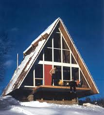 Small A Frame Cabin Kits The Mania For A Frames Old House Restoration Products U0026 Decorating