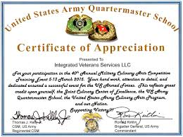 army certificate of appreciation template sports flyers templates free