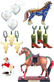 breyer race ornaments vintage rocking