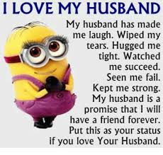 Love My Husband Meme - i love my husband my husband has made me laugh wiped my o tears