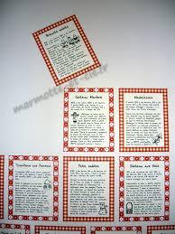 stickers recette cuisine stickers recettes de cuisine un article paru sur marmotte et