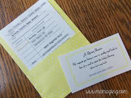 Library Card Invitation Mama Ging It U0027s Raining It U0027s Pouring It U0027s A Baby Shower