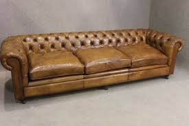 Chesterfield Sofa Used Antique Leather Chesterfield Sofa Rooms