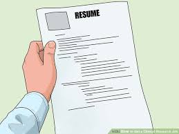 Clinical Research Associate Job Description Resume by How To Get A Clinical Research Job With Pictures Wikihow