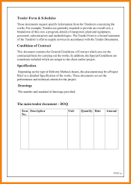 tender document template hitecauto us