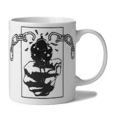 huf coffee mug white boardworld store