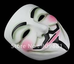 Guy Fawkes Mask Halloween by Movie V Mask For Vendetta Anonymous Mascara Mask Cosplay Face Guy