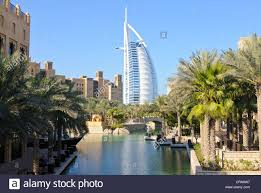the burj al arab most expensive hotel in the world seen from the