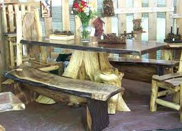 tree stump table base tree root table base image of tree trunk table base glass dining