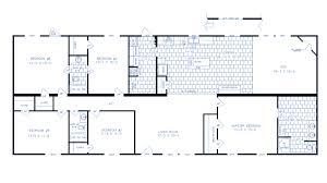 16x80 Mobile Home Floor Plans by Lexington Putnam Homes Putnam Homes