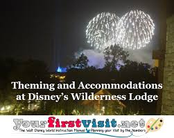 theming and accommodations at disney u0027s wilderness lodge
