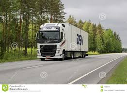 volvo trailer price white volvo fh trailer truck on the road editorial image image